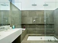 Стеклянная перегородки для ванной