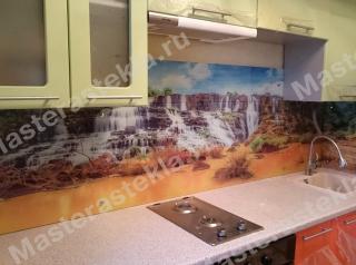 Кухонный фартук с УФ печатью