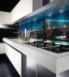 Скинали для кухни в стиле hi tech