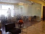 Раздвижная офисная стеклянная перегородка