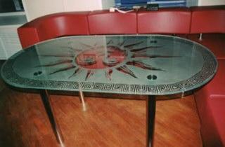 Пескоструйная обработка стекла