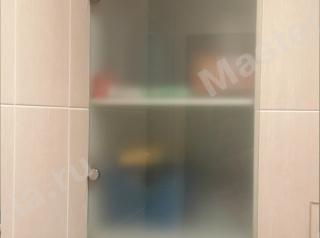 Стеклянные дверцы из матового стекла